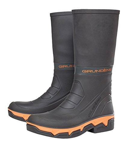 Grundens Deck Boss 15-inch Waterproof Boots - Black/Orange (10 D(M) US)