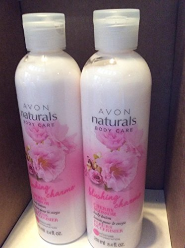 AVON naturals body care blushing charme Cherry Blossom bo...