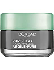 L'Oréal Paris Skincare Pure-Clay Face Mask with Charcoal...