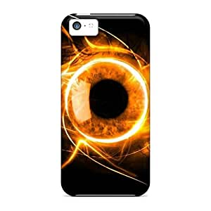Case Cover Fire Eye Iphone 5c Protective Case