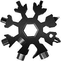 مفتاح ربط 18 في 1 متعدد الاستخدامات من ايجولتز بتصميم ندفة الثلج مصنوع من الستانلس ستيل | مفك ذكي وعملي متعدد الاغراض…