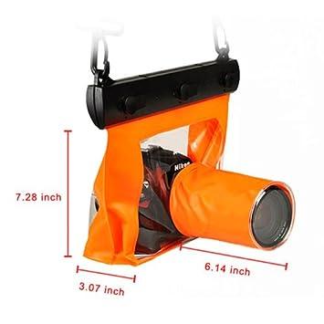 Goliton® impermeable bolsa de cámara DSLR lote de funda para ...