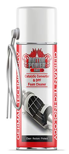 MotorPower Care DPF Diesel particulate Filter Foam Cleaner Cleaner