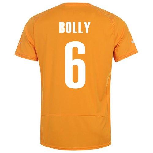 東部分子先史時代のPUMA BOLLY #6 IVORY COAST HOME JERSEY WORLD CUP 2014/サッカーユニフォーム コートジボワール ホーム用 ワールドカップ2014 背番号6 ボリー