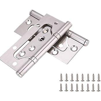 Zengest Door Hinges 4 Inches Non Mortise Hinges for Heavy Weight Door (Pack of 2)