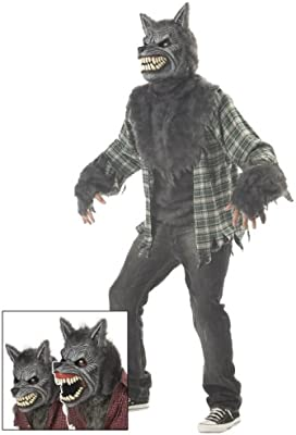 Disfraz hombre lobo lujo Halloween L: Amazon.es: Juguetes y juegos