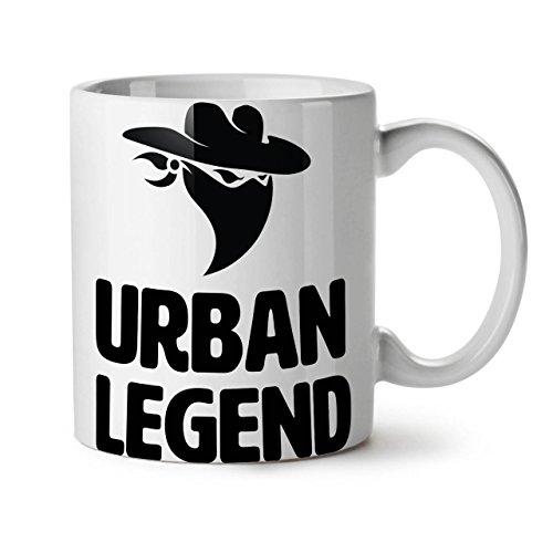 - Urban Legend Bandit Mask White Tea Coffee Ceramic Mug 11 oz | Wellcoda