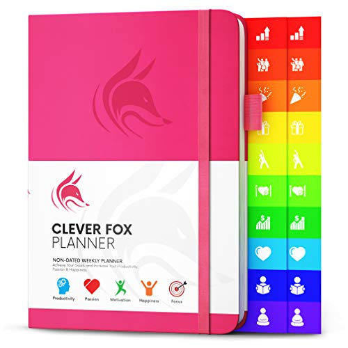 Clever Fox Planner - Weekly & Monthly Planner...