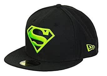 A NEW ERA Era DC Comics Superman 59fifty Basecap Main Black ...