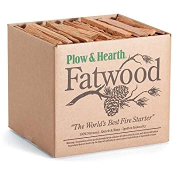 Amazon.com: Fatwood Fire Starter for Fireplace or Woodburning - 10 ...