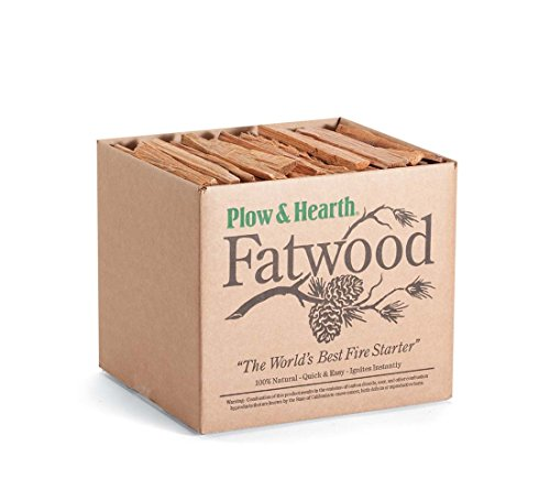 Fatwood Fire Starter for Fireplace or Woodburning - 10 Pounds