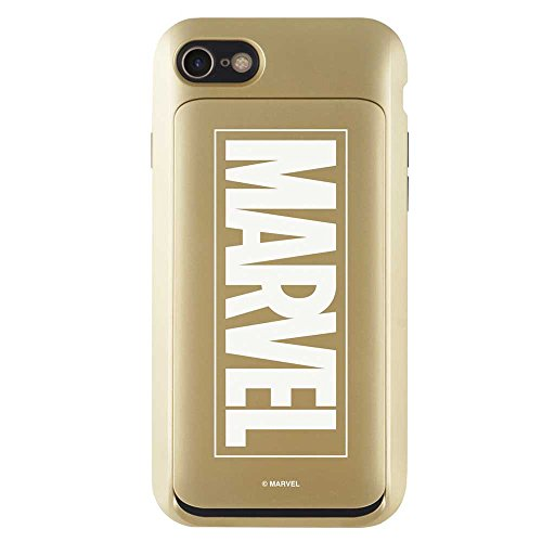 skinplayer iPhone7 iPhone8 《마블》 MARVEL i-Slide GLOW 아이스 라이드 CARD CASE 카드 수납 케이스 (iPhone 7/8)
