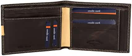 Wallet man HARVEY MILLER POLO CLUB moro in leather holder ccredit A3687