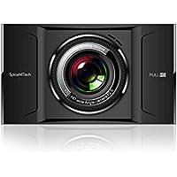SplashETech FX50D Dual-Lens Ultrathin 4 Screen Dash Cam, 170°+ 110°Angle, WDR Super Night Vision, Full HD 1080P, G-sensor, Parking Guard