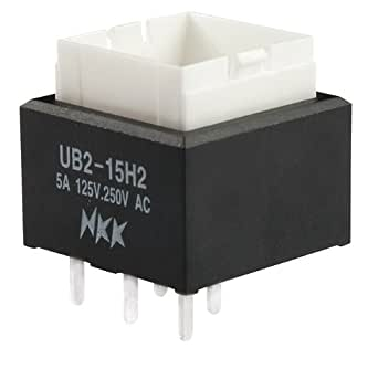 nkk switches ub215skw036b low profile pushbutton. Black Bedroom Furniture Sets. Home Design Ideas