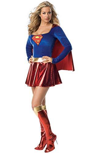Hiwill les Super – héroe Super niña Mesdames Disfraz de Wonder ...