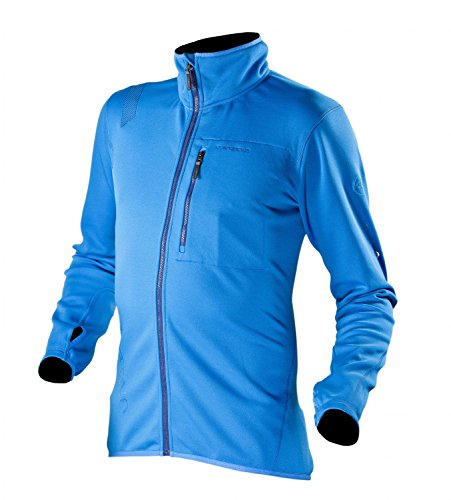 La Sportiva Giacca Mid Layer Voyager Jacket, Blue (L)