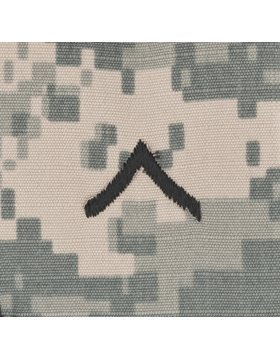 Army Combat Uniform ACU Enlisted Rank (Sew-on Cap, E-2 Private) (Army Uniform Rank)