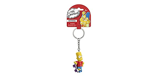 Amazon.com: Fox The Simpsons Bart con monopatín 3d pvc ...