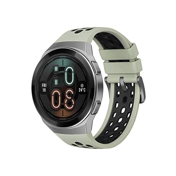 41l12r3OeuL HUAWEI Watch GT 2e Active (Mint Green, 46mm, 2 Weeks Battery, Music Control, 100 Workout Modes, SpO2 & Heartrate Monitor…