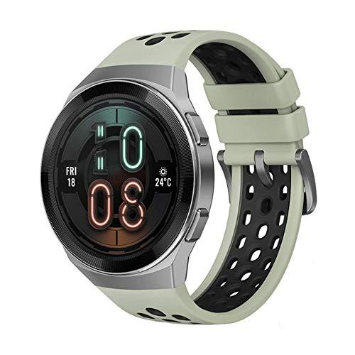 """HUAWEI WATCH GT2e Smartwatch, 1.39"""" AMOLED HD Touchscreen- Mint Green"""