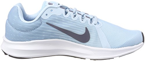de Azul Blue Cobalt leche para Running Downshifter 400 Carbon 8 Tint Mujer Light Zapatillas Nike qwF4t0Z