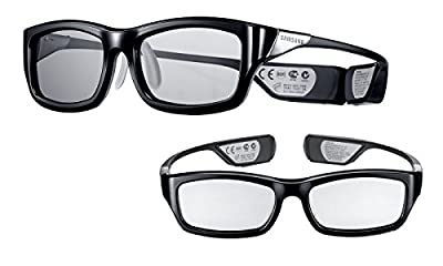 Samsung Rechargeable 3D Active Glasses, Black by Samsung