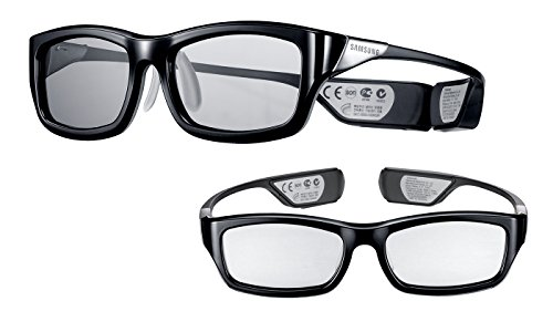 (2x Pair) Samsung Rechargeable 3D Active Glasses, Black