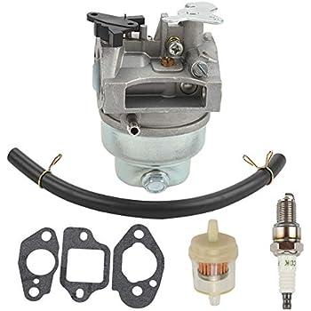 amazon com butom gcv160 carburetor for honda gcv 160 engine lawnbutom gcv160 carburetor for honda gcv 160 engine lawn mower w gasket fuel filter line