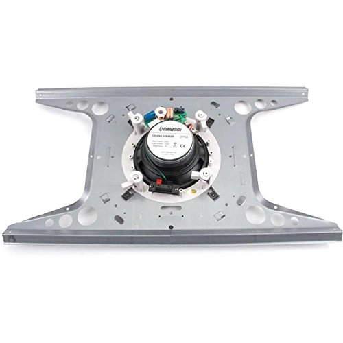 C2G/Cables to Go 39909 Plenum Rated Speaker Mount for 6-Inch Ceiling Speaker, Pair, TAA Compliant
