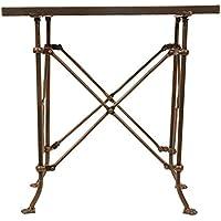 Creative Co-Op DA0124 Metal Table with Bronze Finish