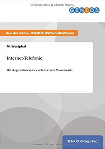 Internet Telefonie German Edition M Westphal 9783737934343