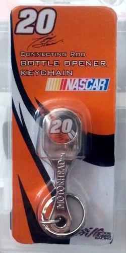 (Tony Stewart NASCAR #20 Connecting Rod Bottle Opener Keychain)