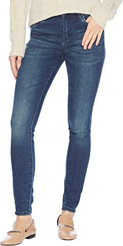 Blank NYC Women's The Bond Body Denim Mid-Rise Skinny in Avatar Avatar 28 28