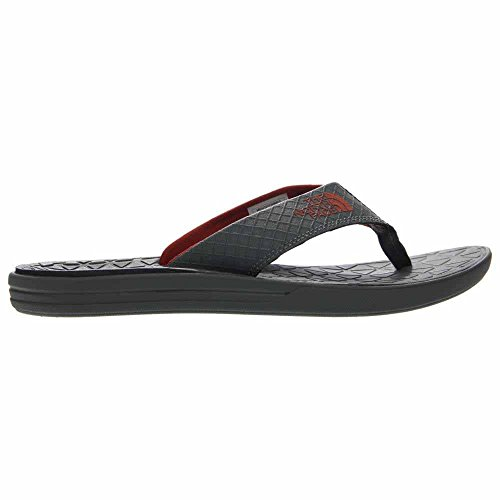 Le Camp De Base Des Hommes Face Nord Flip-flops Gris Graphite / Orange Rouille