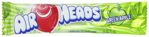 , 0.55-Ounce Packages (Pack of 144) (Airheads Green Apple)