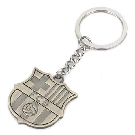 Amazon.com: FC Barcelona Metal Keychain: Sports & Outdoors