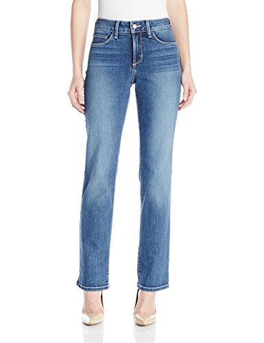NYDJ Women's Petite Marilyn Straight Jeans in