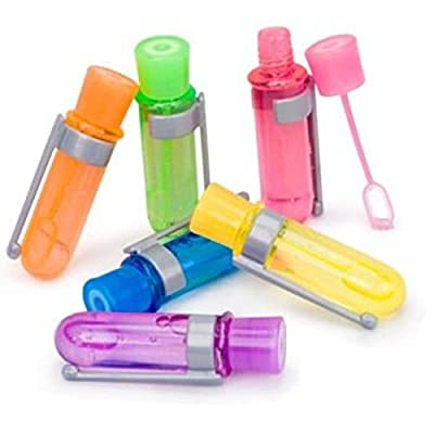 Mini Test Tube Touchable Bubbles (colors may vary): Toys & Games