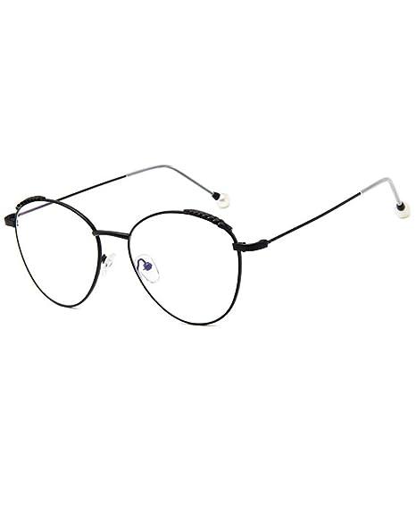 0a4b14cba0 Gafas transparentes Gafas metal Montura Marco Lente Claro retro Anteojos para  Unisex Hombre y Mujer: Amazon.es: Ropa y accesorios