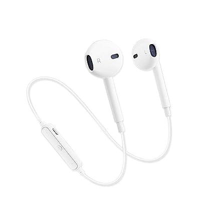 Sencillo Vida Auriculares Bluetooth inalámbricos, Cancelación de Ruido, Auriculares Deportivos Estéreo con micrófono para