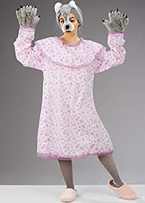 Magic Box Disfraz de Abuela Malvada Grande para Mujer: Amazon.es ...