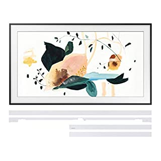 "Samsung QN43LS03TA 43"" Frame QLED Smart 4K Ultra High Definition TV with a Samsung VG-SCFT43WT 43"" White Customizable Bezel for The Frame TV (2020)"