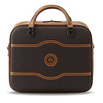 Delsey Paris Chatelet Air Cabin 48H Tote Bag Carry-On (Softside), Chocolate (00167241006)