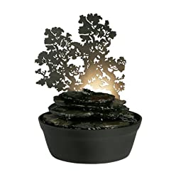 Homedics WFL-MDV EnviraScape Midnight Valley Illuminated Relaxation Fountain with Projection