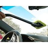 New Microfiber Cloth /Spray Windscreen Car Van Glass Cleaner Demister Wiper Detachable Handle
