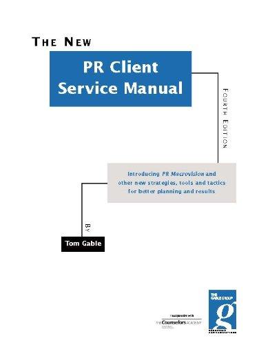 PR Client Service Manual