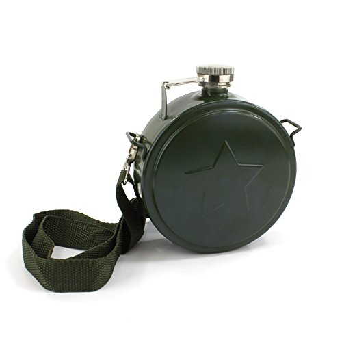 british belt flask - 2
