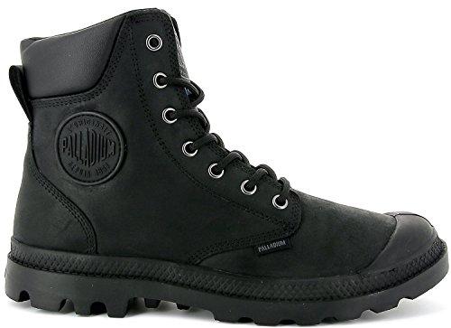 Palladium Unisex Pampa Cuff WP Lux Schwarz Stiefel Boots Größe 38