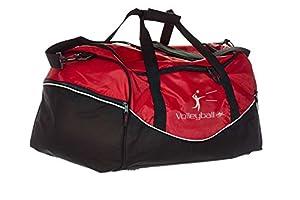 Tasche Team rot/schwarz Volleyball
